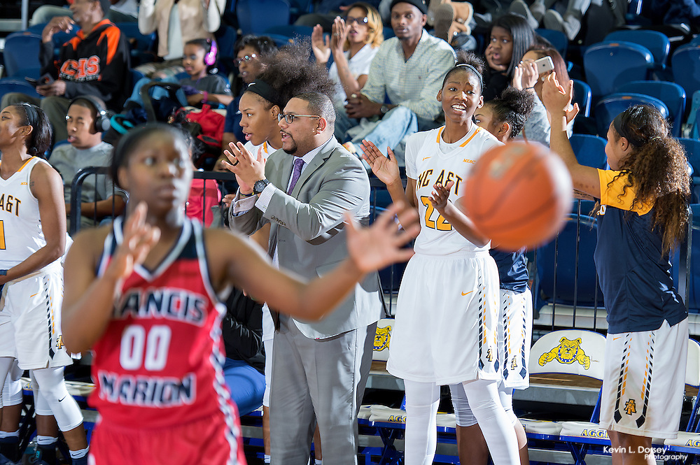 2016-17 A&T Women's Basketball vs Francis Marion - Ncataggies.com \ Photo by: Kevin L. Dorsey