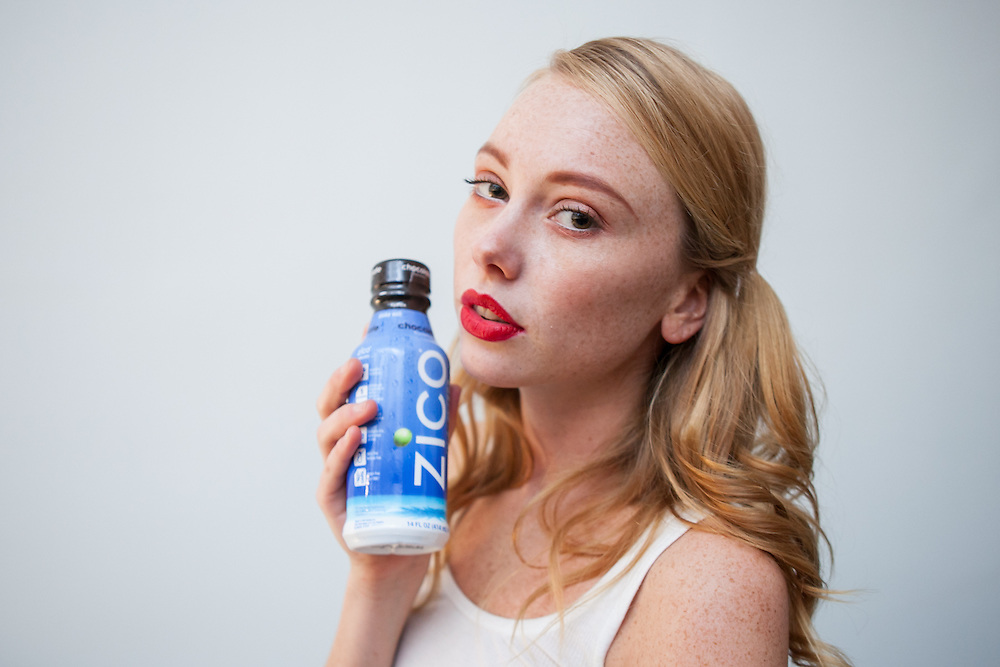 ZICO Premium Coconut Water featured at Nolcha Fashion Week New York Fall-Winter 2014. Nolcha Fashion Week New York is a leading award winning event, held during New York Fashion Week, for independent fashion designers to showcase their collections to a global audience of press, retailers, stylists and industry influencers. Over the past six years Nolcha Fashion Week: New York has established itself as a platform of discovery promoting innovative fashion designers through runway shows and exhibition. Nolcha Fashion Week: New York has built an acclaimed reputation as a hot incubator of new fashion design talent and is officially listed by New York City Economic Development Corporation; offering a range of cost effective options to increase designers recognition and develop their business. (Photo: www.JeffreyHolmes.com)