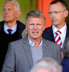 Former Manchester Utd and Everton Manager, David Moyes, who also played for Bristol City at the Bescot Stadium  - Photo mandatory by-line: Joe Meredith/JMP - Mobile: 07966 386802 - 04/10/2014 - SPORT - Football - Walsall - Bescot Stadium - Walsall v Bristol City - Sky Bet League One