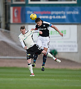 Dundee&rsquo;s Darren O&rsquo;Dea out jumps Inverness&rsquo; Billy McKay - Dundee v Inverness Caledonian Thistle in the Ladbrokes Scottish Premiership at Dens Park, Dundee, Photo: David Young<br /> <br />  - &copy; David Young - www.davidyoungphoto.co.uk - email: davidyoungphoto@gmail.com