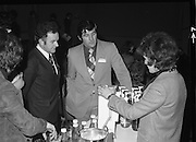 24/01/1979.01/24/1979.24th January 1979.Photograph shows Mr Donal O'Sullivan and Mr Kevin O'Sullivan (Roches Stores), waiting to receive a glass of SodaStream at the products Irish launch at the Burlington Hotel.
