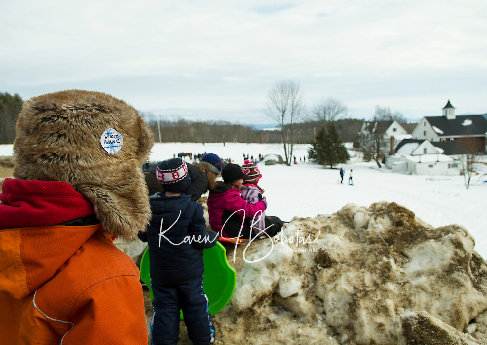 Winter Fest at Prescott Farm Saturday, February 16, 2013.  Karen Bobotas/for the Laconia Daily Sun