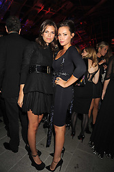 Left to right, DASHA ZHUKOVA and CAMILLA AL FAYED at the annual Serpentine Gallery Summer Party in Kensington Gardens, London on 9th September 2008.