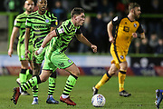 Forest Green Rovers Matty Stevens(9) runs forward during the EFL Sky Bet League 2 match between Forest Green Rovers and Port Vale at the New Lawn, Forest Green, United Kingdom on 11 February 2020