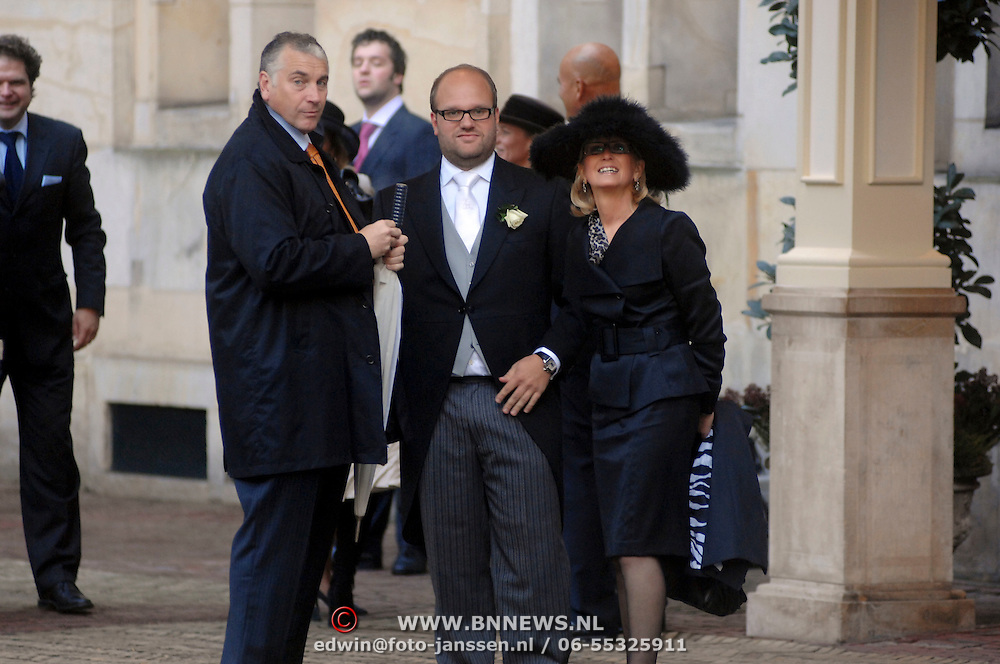 NLD/Amsterdam/20061111 - Huwelijk Christijan Albers en Liselore Kooijman, Mario van der Ende en partner Els Rietman