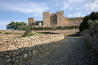 Old castle in Trujillo, Extremadura, Spain