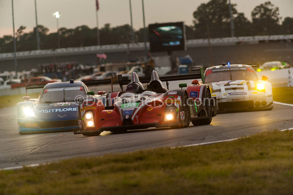 #38 Performance Tech Motorsports ORECA FLM09: James French, Kyle Marcelli, Brandon Gdovic, Jim Norman, Josh Norman