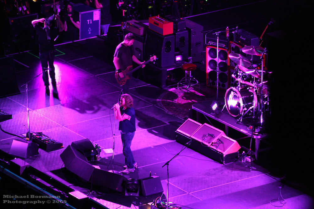 Pearl Jam in Concert, May 18th 2010, Prudential Centre, NJ