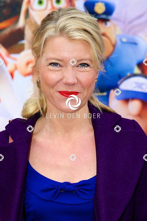 AMSTERDAM - In Pathé ArenA is de film 'Het Regent Gehaktballen 2' in premiere gegaan.  Met op de foto Sandra Ysbrandy. FOTO LEVIN DEN BOER - PERSFOTO.NU