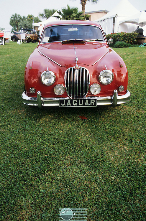 The Jaguar Mark 2 is a medium-sized saloon car built from late 1959[2] to 1967 by the Jaguar company in Coventry, England. For the last 12 months before announcement of the XJ6 they were re-labelled Jaguar 240 and Jaguar 340. The previous Jaguar 2.4 and 3.4 models made between 1955 and 1959 have been identified as Mark 1 Jaguars since Jaguar produced this Mark 2 model.[3]