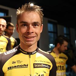 22-12-2016: Wielrennen: Presentatie Lotto Jumbo: Rijswijk   <br /> Bert Jan Lindeman