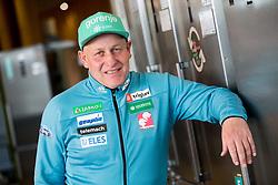 Goran Janus during press conference of Slovenian Nordic Ski team before new season 2017/18, on November 14, 2017 in Gorenje, Ljubljana - Crnuce, Slovenia. Photo by Vid Ponikvar / Sportida