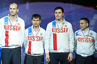 Equipe Russie - 03.05.2015 - Challenge SNCF Reseau - Coupe du Monde Epee messieurs<br />