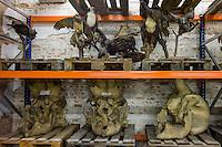 AFrica Museum Tervuren laatste dag van de vakantie met speciale activiteiten.Bezoek aan de opslag kelders mogelijk ihkv de expo UNCENSORED, voor de grote verbouwing van het museum begint.Jachttrofeeen.