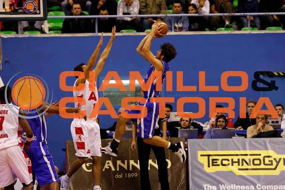 DESCRIZIONE : Milano Lega A1 2007-08 Armani Jeans Milano Pierrel Capo d'Orlando<br /> GIOCATORE : Drake Diener<br /> SQUADRA : Pierrel Capo d'Orlando<br /> EVENTO : Campionato Lega A1 2007-2008<br /> GARA : Armani Jeans Milano Pierrel Capo d'Orlando<br /> DATA : 18/10/2007<br /> CATEGORIA : Tiro<br /> SPORT : Pallacanestro<br /> AUTORE : Agenzia Ciamillo-Castoria/G.Cottini
