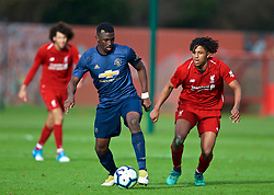 KIRKBY, ENGLAND - Saturday, January 26, 2019: Manchester United's Aliou Traore during the FA Premier League match between Liverpool FC and Manchester United FC at The Academy. (Pic by David Rawcliffe/Propaganda)