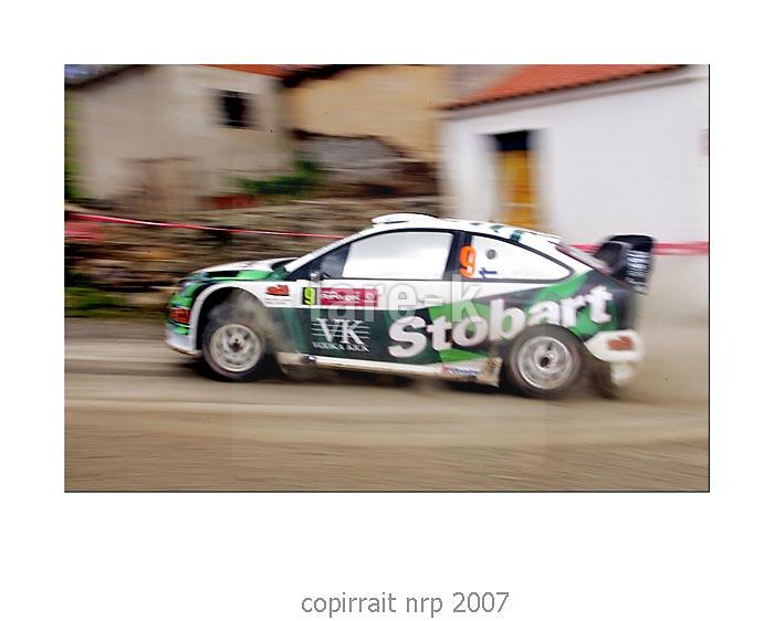 WRC PORTUGAL 2007 JARI-MATTI LATVALA<br /> FORD FOCUS RX WRC 06<br /> STOBART VK MSPORT FRT