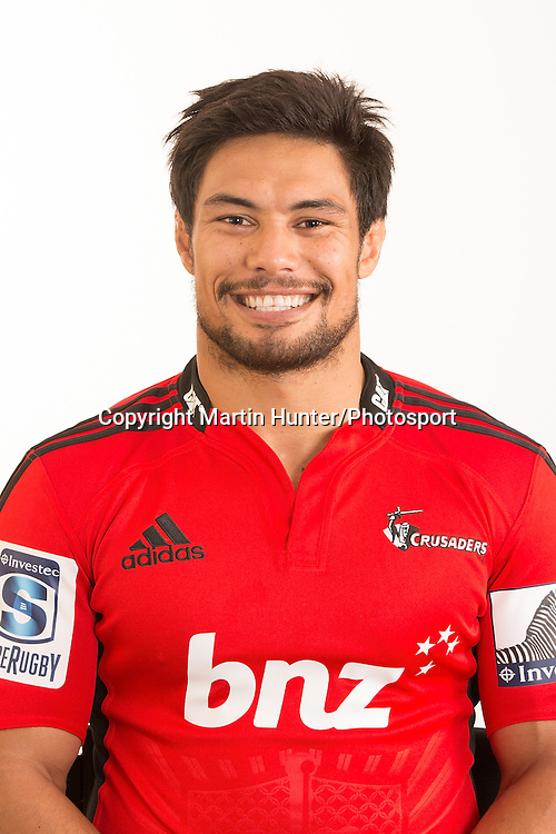 Shane Christie, Crusaders 2013 Team headshots. Super 15 Rugby. Rugby Park, Christchurch. 18 January 2013. Photo: Martin Hunter/photosport.co.nz