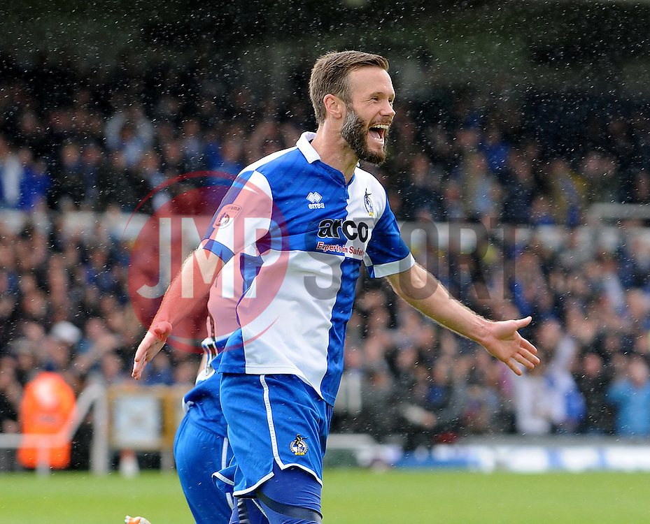 Bristol Rovers' Andy Monkhouse - Photo mandatory by-line: Neil Brookman/JMP - Mobile: 07966 386802 - 03/05/2015 - SPORT - Football - Bristol - Memorial Stadium - Bristol Rovers v Forest Green Rovers - Vanarama Football Conference