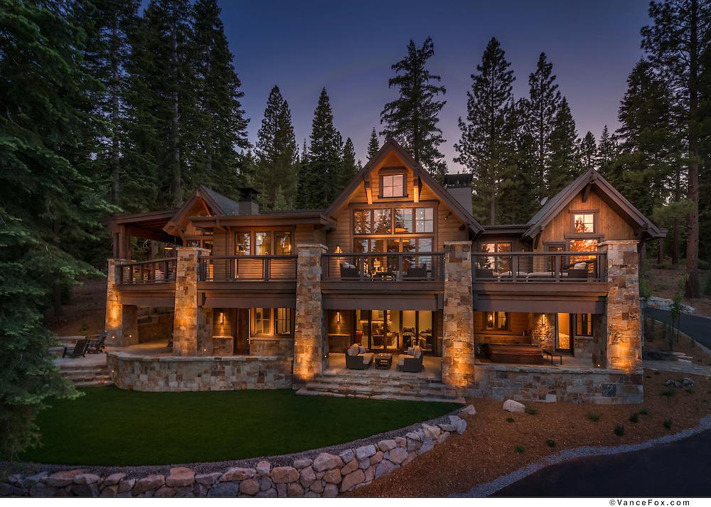 37 Martis Camp home for Sarah Jones Interior Design, AP Thomas Construction, Lot C Architecture