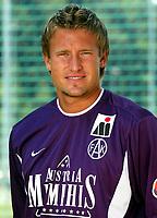 Fotball<br /> 01.07.2003<br /> Thorstein Helstad - Austria Wien<br /> Foto: Michael Kop, Digitalsport