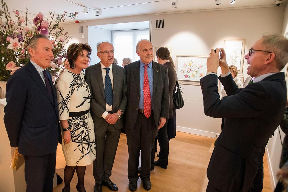 Nederland, Zeist,  20170225<br /> Opening expositie werk van Janneke Brinkman in Slot Zeist.<br /> <br />  Foto: (c) Michiel Wijnbergh