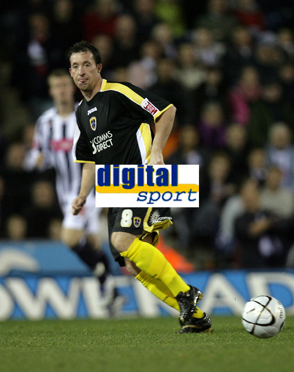 Photo: Rich Eaton.<br /> <br /> West Bromwich Albion v Cardiff City. Carling Cup. 25/09/2007. Cardiff's Robbie Fowler who scored the first goal of the game.