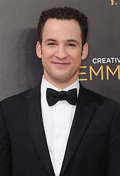 Ben Savage bei den Creative Arts Emmy Awards in Los Angeles / 100916<br /> <br /> <br /> *** at the Creative Arts Emmy Awards in Los Angeles on September 10, 2016 ***
