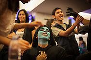 Participantes del evento Caracas Comic Con 2012 realizado en Caracas, 24 Nov. 2012. (Foto/ivan gonzalez)