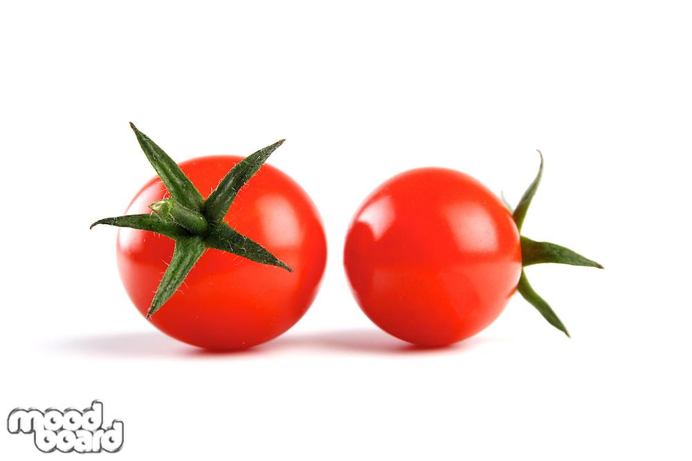 Studio shot of cherry tomatoes
