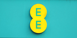 A logo for mobile network EE on a branch at Oxford Street, London. Picture dated: Thursday September 13, 2018. Photo credit should read: Isabel Infantes / EMPICS Entertainment.