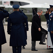President George W. Bush boards Air Force One Wednesday, January 24, 2007.<br /> <br /> Khue Bui