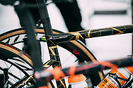 The bike of Anna Van Der Breggen (NED / Boels Dolmans) before the start of the Strade Bianche 2018<br /> <br /> Photo: Francesco Rachello / Tornanti.cc