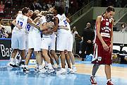 DESCRIZIONE : Riga Latvia Lettonia Eurobasket Women 2009 Semifinal 5th-8th Place Italia Lettonia Italy Latvia<br /> GIOCATORE : Gunta Basko Mariachiara Franchini Raffaella Masciadri Chiara Pastore Roberta Meneghel Marte Alexander Adriana Grasso Kathrin Ress Francesca Modica<br /> SQUADRA : Italia Italy Lettonia Latvia<br /> EVENTO : Eurobasket Women 2009 Campionati Europei Donne 2009 <br /> GARA : Italia Lettonia Italy Latvia<br /> DATA : 19/06/2009 <br /> CATEGORIA : esyultanza delusione<br /> SPORT : Pallacanestro <br /> AUTORE : Agenzia Ciamillo-Castoria/E.Castoria<br /> Galleria : Eurobasket Women 2009 <br /> Fotonotizia : Riga Latvia Lettonia Eurobasket Women 2009 Semifinal 5th-8th Place Italia Lettonia Italy Latvia<br /> Predefinita :