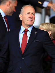 Southampton chairman Ralph Krueger in the stands during the Premier League match at St Mary's, Southampton.