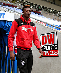 Tammy Abraham of Bristol City arrives at the DW Stadium - Mandatory by-line: Matt McNulty/JMP - 11/03/2017 - FOOTBALL - DW Stadium - Wigan, England - Wigan Athletic v Bristol City - Sky Bet Championship
