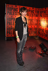 """Sheherazade Goldsmith at """"Hoping For Palestine"""" Benefit Concert For Palestinian Refugee Children held at The Roundhouse, Chalk Farm Road, England. 04 June 2018. <br /> Photo by Dominic O'Neill/SilverHub 0203 174 1069/ 07711972644 - Editors@silverhubmedia.com"""