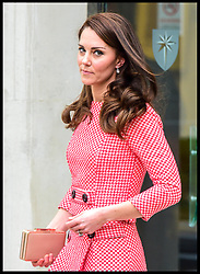 March 23, 2017 - London, United Kingdom - CATHERINE, the Duchess of Cambridge, attends the launch of a series of educational films made by Best Beginnings, a partner of the Heads Together campaign. The Duchess will view the films ahead of Mother's Day. (Credit Image: © Pete Maclaine/i-Images via ZUMA Press)