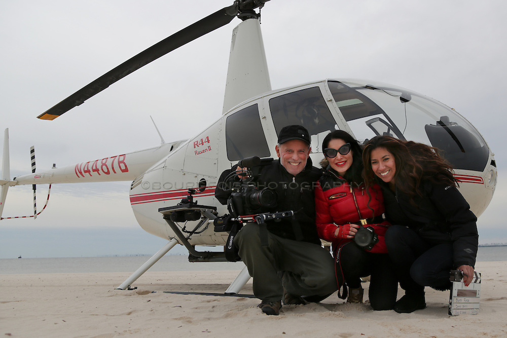 DP David West, Saye Yabandeh and Elvira Garcia near the helicopter used in the film, Blunt Force. Event and portrait photography and videography all along the Mississippi Gulf Coast. Serving Biloxi, Gulfport, Pascagoula, Long Beach, Pass Christian, Waveland, Ocean Springs, and Bay St. Louis.