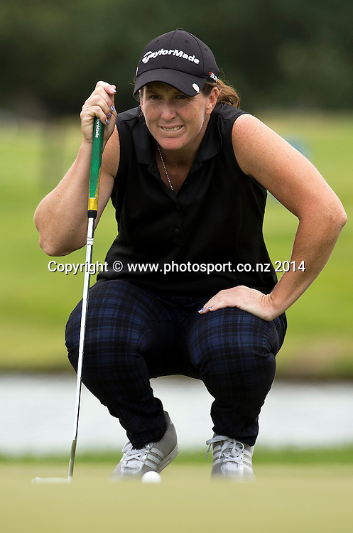 NZ women's golf open at Clearwater resort.<br /> Day 2.<br /> Beth Allen (USA)