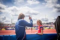 Friidrett<br /> EM Europamesterskapet 2016<br /> Amsterdam 06.07.216<br /> Foto: Eirik Førde / Digitalsport<br /> <br /> Katarina Mögenburg - Norge<br /> Dietmar Mögenburg