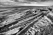 Shoreline of Great Slave Lake <br />Hay River<br />Northwest Territories<br />Canada