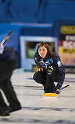 "Glasgow. SCOTLAND.  Scotland Skip, Eve MUIRHEAD,  during  the ""Round Robin"" Game.  Scotland vs Russia,  Le Gruyère European Curling Championships. 2016 Venue, Braehead  Scotland<br /> Thursday  24/11/2016<br /> <br /> [Mandatory Credit; Peter Spurrier/Intersport-images]"