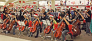 The T.H. Rogers Chamber Orchestra performed holiday tunes at the Target on San Felipe. Target and the Be An Angel Fund hosted special education students from around HISD as they shopped for the holidays.<br /> To submit photos for inclusion in eNews, send them to hisdphotos@yahoo.com.