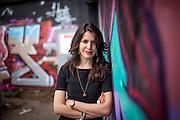 """Schriftstellerin und derzeit Stipendiatin des Prager Literaturhauses - Vea Kaiser - fotografiert in Prag. Vea Kaisers erster Roman """"Blasmusikpop"""" wird im Herbst 2012 bei Kiepenheuer & Witsch erscheinen. Vea Kaiser lebt und arbeitet in Wien."""
