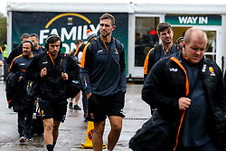 Ashley Beck of Worcester Warriors arrives at Northampton Saints - Mandatory by-line: Robbie Stephenson/JMP - 26/10/2019 - RUGBY - Franklin's Gardens - Northampton, England - Northampton Saints v Worcester Warriors - Gallagher Premiership Rugby