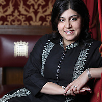 March 2011, Baroness Sayeeda Warsi, Conservative Party chairman, Palace of Westminster.