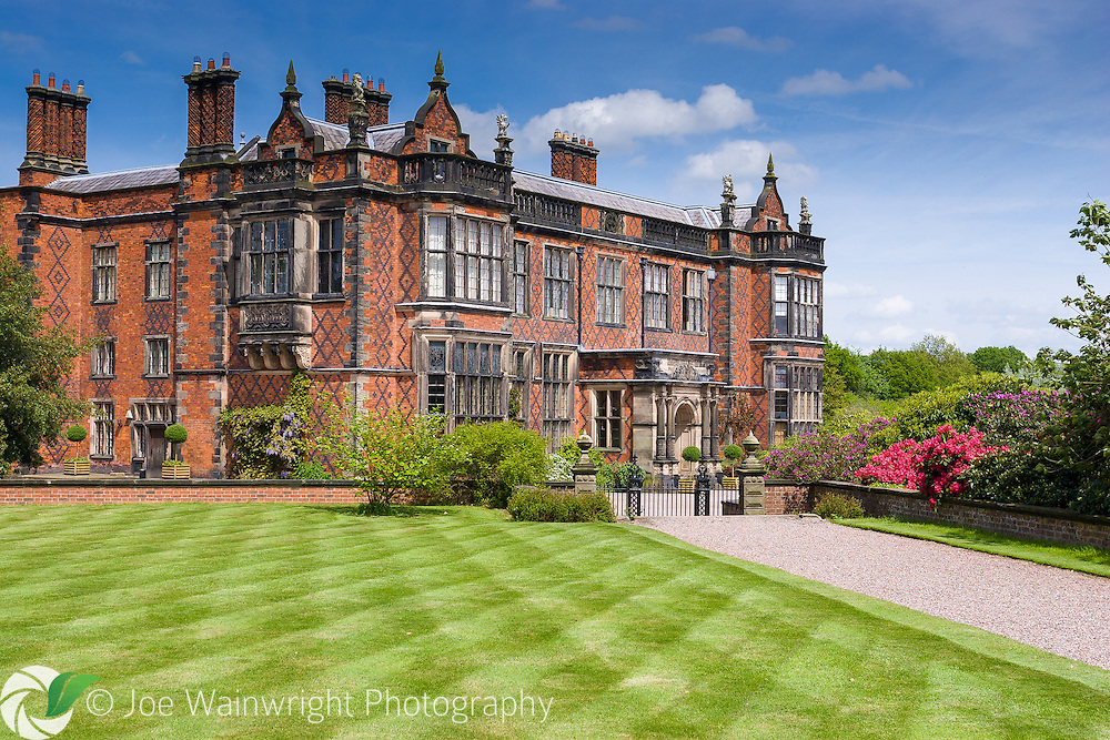 Arley Hall, Cheshire, was built between 1832 and 1845.  It is the family home of Lord and Lady Ashbrook.