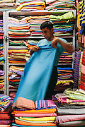 Small local market. Yangon, Myanmar