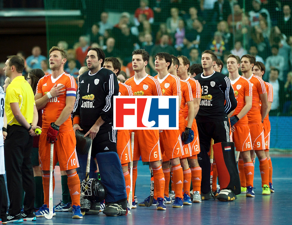LEIZPIG - WC HOCKEY INDOOR 2015<br /> NED v AUT (Final)<br /> Foto: Netherlands <br /> FFU PRESS AGENCY COPYRIGHT FRANK UIJLENBROEK